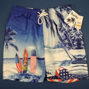 Trunks Surf and Swim Co. Men's Bathing Suit NWT